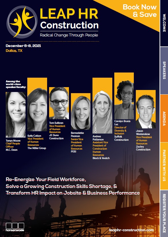 construction brochure cover